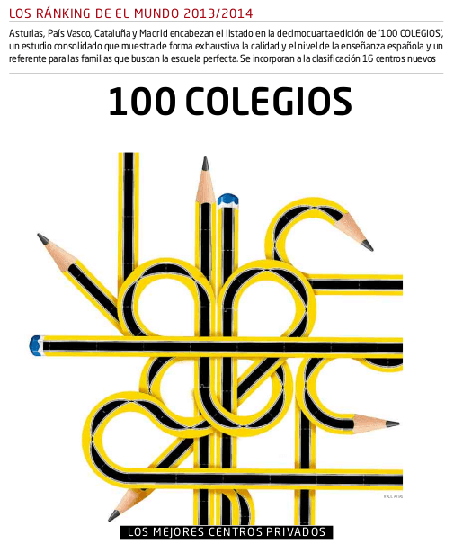 Los 100 mejores colegios de España 2013-2014