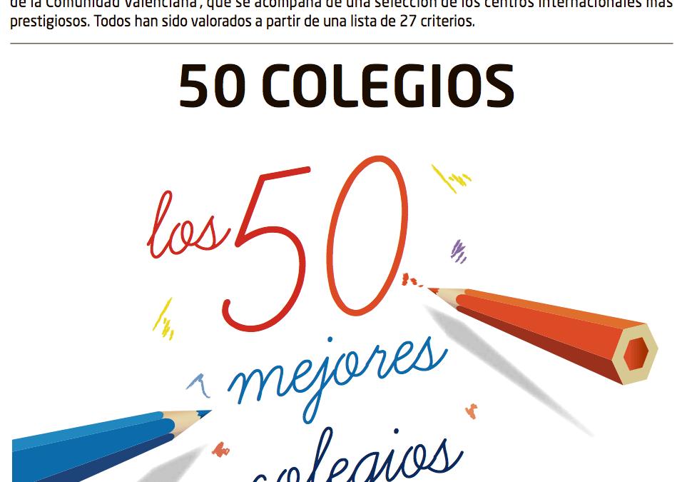 Los 50 mejores colegios de la Comunidad Valenciana 2013