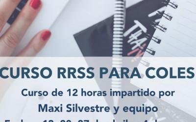 CURSO REDES SOCIALES PARA COLES